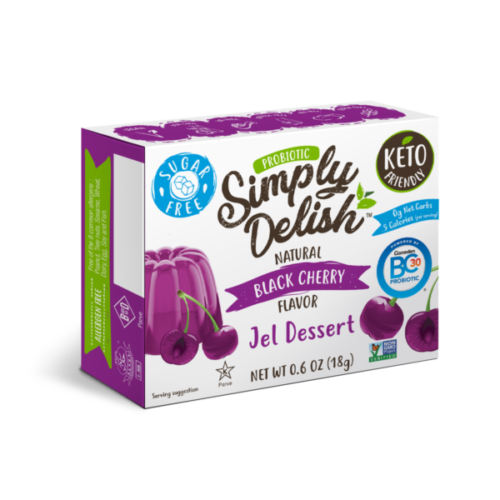 Simply Delish Probiotic Black Cherry Jel