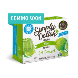 simply delish lime jel coming soon