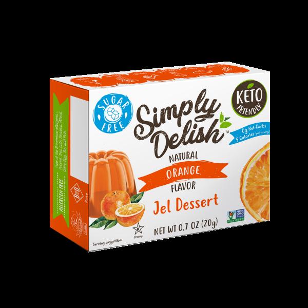 Simply Delish Sugar Free orange Jel