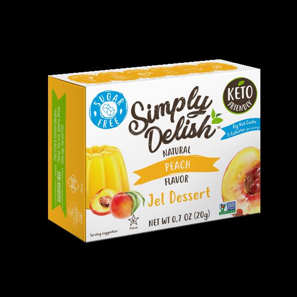 Simply Delish Sugar Free Peach Jel