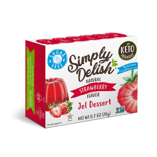 Simply Delish Sugar Free Strawberry Jel
