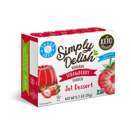 Simply Delish Sugar Free Strawberry Jel