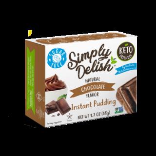 Simply Delish Sugar Free Chocolate Pudding