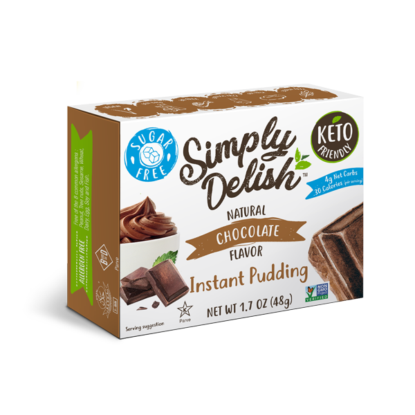 Simply Delish Chocolate Pudding