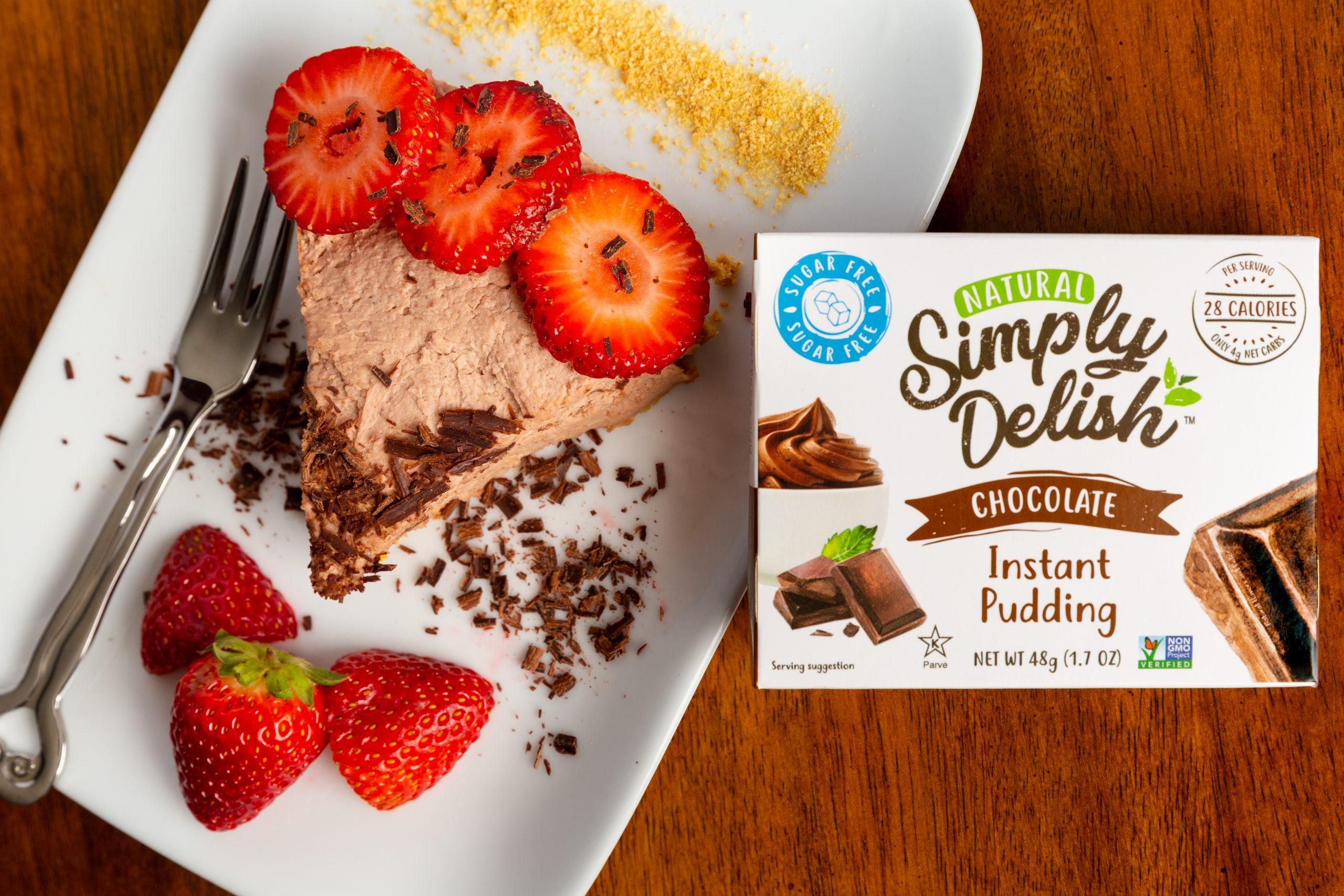Simply Delish Chocolate Pudding Cheesecake