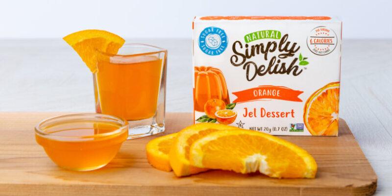 Vodka Shots made with Orange Jel