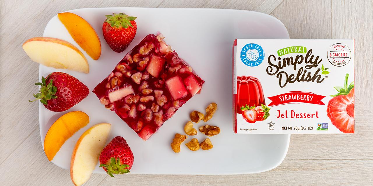Strawberry Fruit and Nut Jel