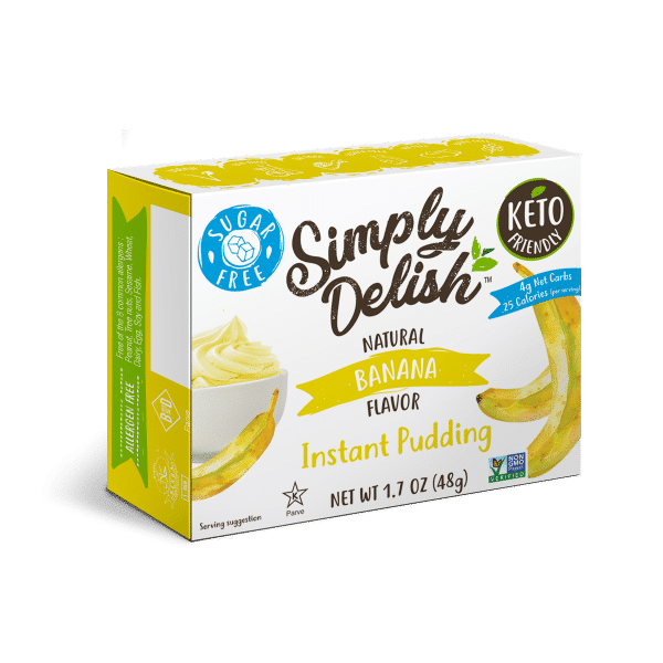 Simply Delish Sugar Free Banana Pudding