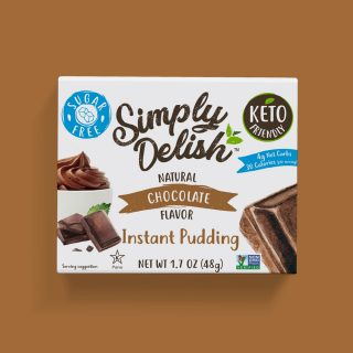 Vegan Sugar Free Instant Chocolate Pudding