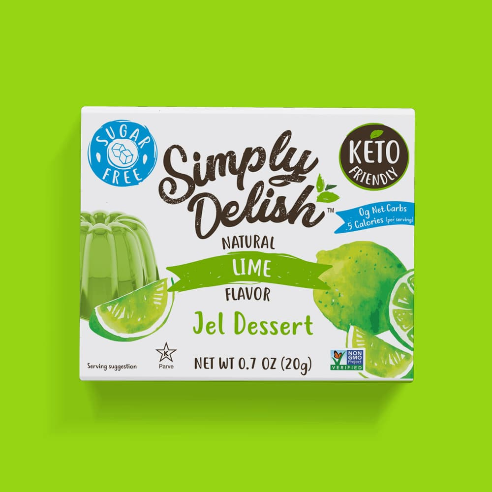 Sugar Free Vegan Lime Jel