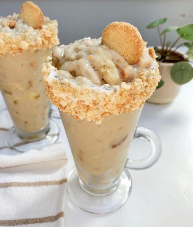vegan banana pudding ice cream