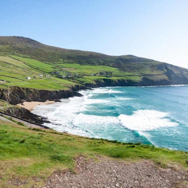 sea and cliff landscape