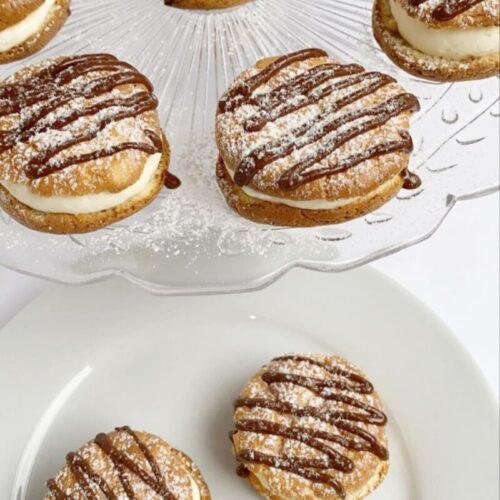 keto cream puffs using simply delish
