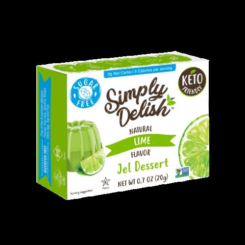 Simply Delish Sugar Free Lime Jel