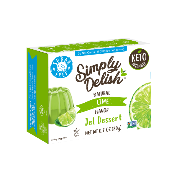 Simply Delish Sugar Free Lime Jel