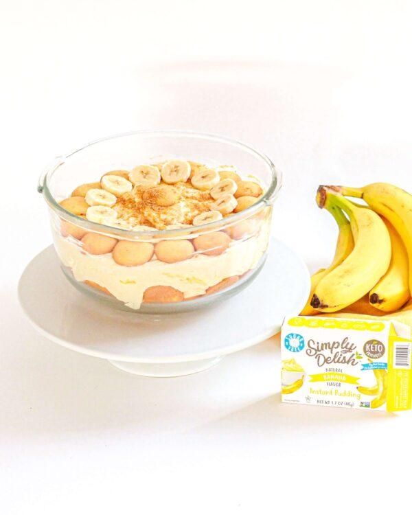 gluten free banana pudding