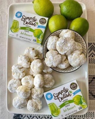 lime burst cookies