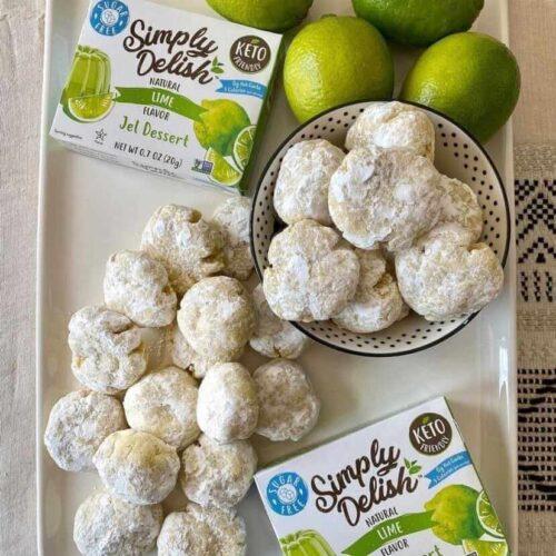 lime burst cookies