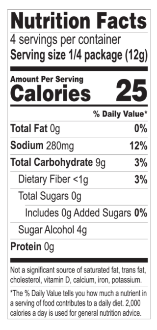 Strawberry Pudding nutritionals