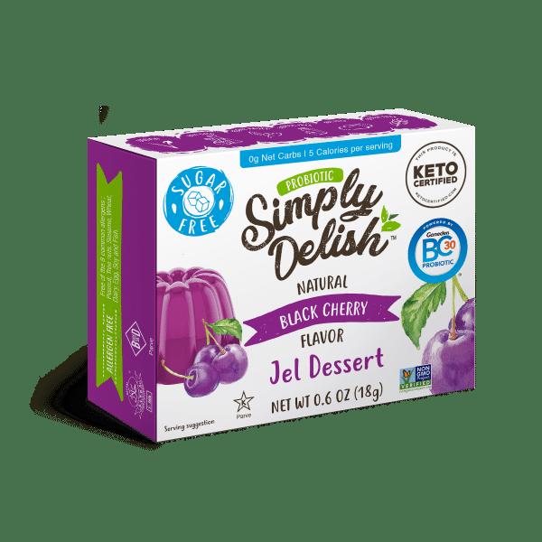 Simply Delish Probiotic Black Cherry Jel