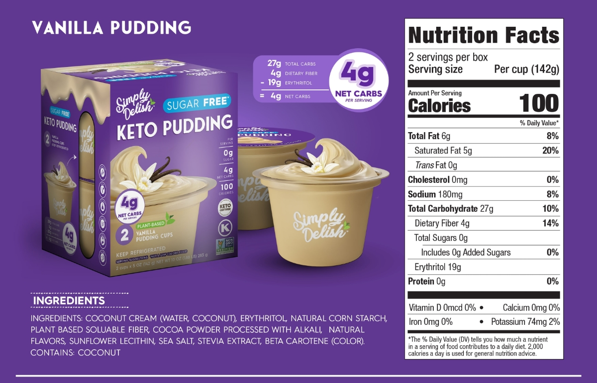 RTE - Vanilla Pudding Scaled