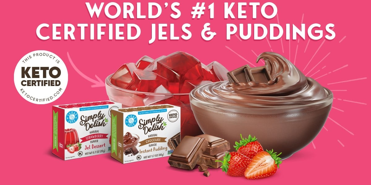 World's #1 Keto Certified Pudding